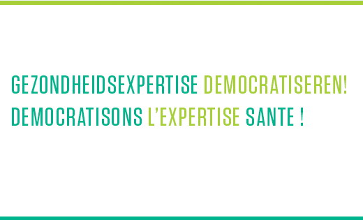 Gezondheidsexpertise democratiseren